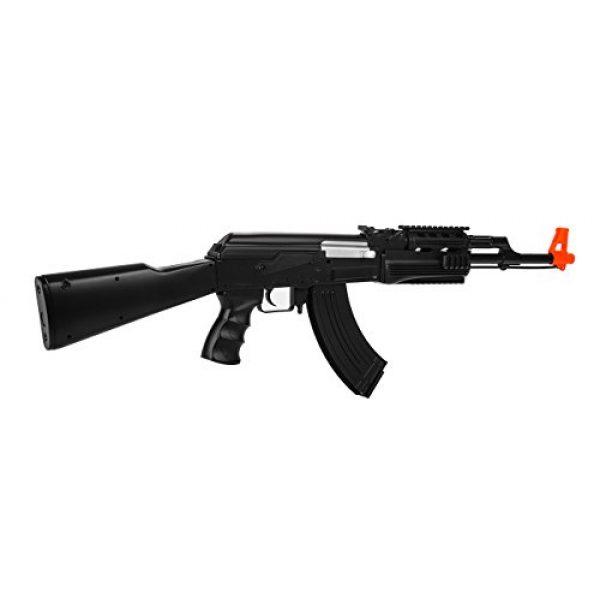 UKARMS Airsoft Rifle 3 UKARMS AK-47 AEG Semi/Full Auto Electric Airsoft Rifle Gun High Capacity Magazine FPS 150