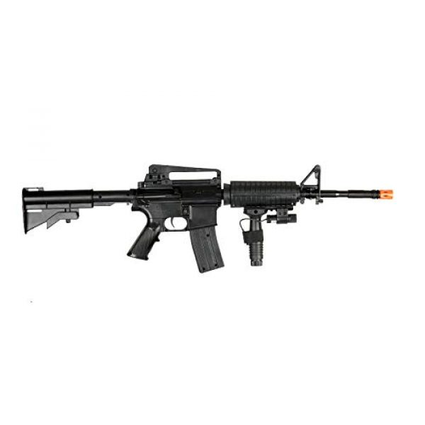UK Airsoft Rifle 3 UK ARMS P1158CA Spring Airsoft Rifle M4A1 Carbine M4 AR15 AR-15 Assault Rifle