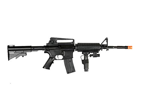 UK  3 UK ARMS P1158CA Spring Airsoft Rifle M4A1 Carbine M4 AR15 AR-15 Assault Rifle