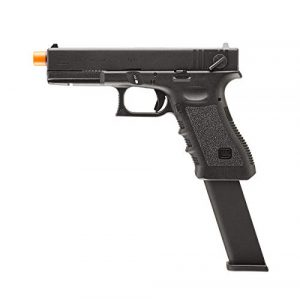 Elite Force Airsoft Pistol 1 Elite Force Glock 18C Gen3 GBB Blowback 6mm BB Pistol Airsoft Gun, Black