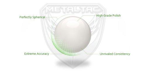 MetalTac  3 MetalTac Airsoft BBS Bio-Degradable .20g Perfect Grade High Precision 6mm BB Pellets (Bag of 5000 Rounds)