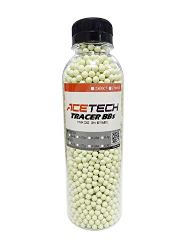 ACETECH Airsoft BB 1 ACETECH Airsoft Gun Glow in Dark Tracer BBS (Green/Red)
