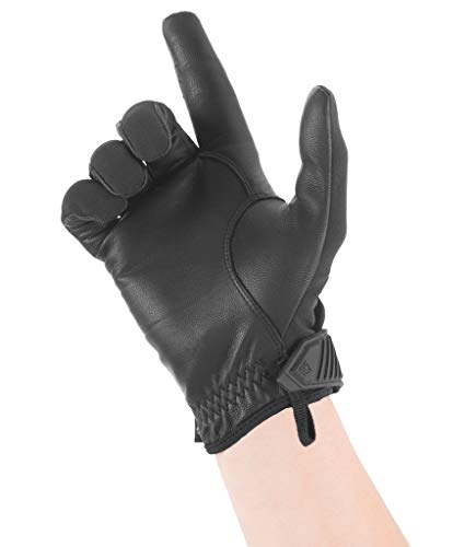 First Tactical Airsoft Glove 4 First Tactical Womens Pro Knuckle Glove | TPR Protective Knuckles with Goatskin Touchscreen Leather