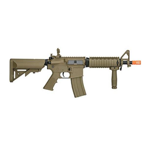 Lancer Tactical Airsoft Rifle 2 UKARMS Lancer Tactical MK18 MOD 0 AEG FIELD Metal Gears Airsoft Gun Rifle w 9.6v Battery & Charger (Tan High Velocity)
