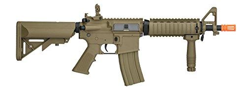 Lancer Tactical  2 UKARMS Lancer Tactical MK18 MOD 0 AEG FIELD Metal Gears Airsoft Gun Rifle w 9.6v Battery & Charger (Tan High Velocity)