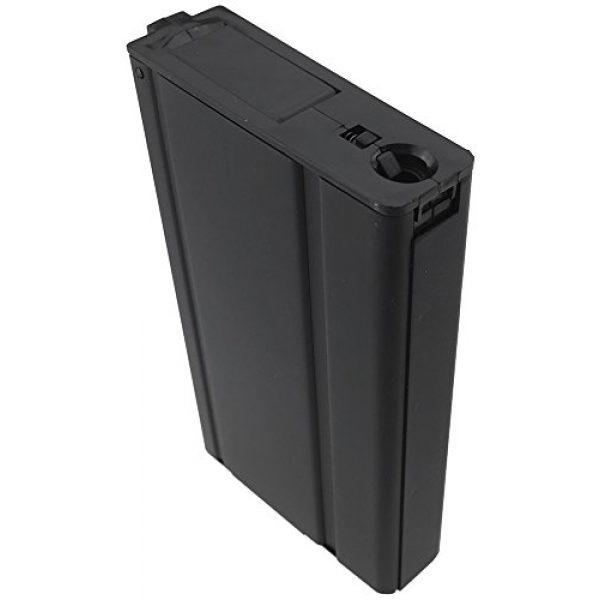 SportPro Airsoft Gun Magazine 2 SportPro 400 Round Metal High Capacity Magazine for AEG M14 3 Pack Airsoft Black