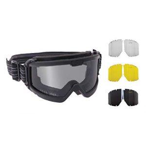 Rothco Airsoft Goggle 1 Rothco ANSI Ballistic OTG Goggle System