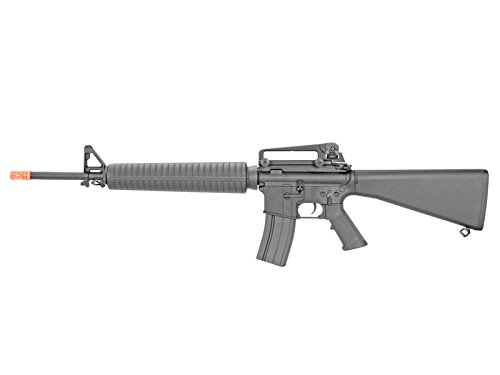 A&K Airsoft Rifle 2 A&K M16 A3 Verion 2 Metal Gear Box Airsoft Gun