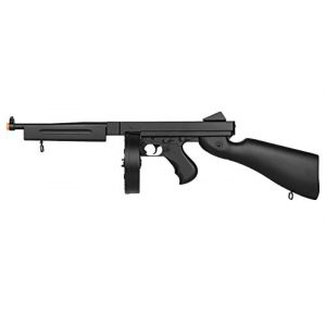 Well Airsoft Rifle 1 Well D98 M1A1 WWII Submachine Gun AEG