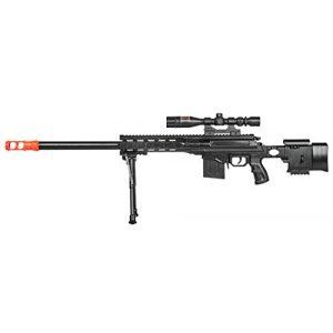 UKARMS Airsoft Rifle 1 UKARMS Top Marksman Sniper Spring Airsoft Rifle Gun FPS 225 w/Bipod