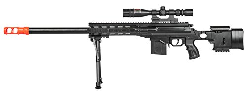 UKARMS  1 UKARMS Top Marksman Sniper Spring Airsoft Rifle Gun FPS 225 w/Bipod