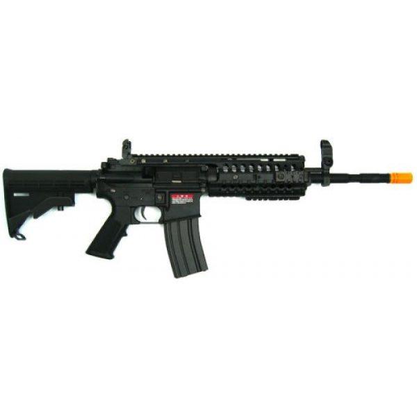 Jing Gong (JG) Airsoft Rifle 1 Jing Gong JG M4 RIS System Airsoft Gun 500 FPS