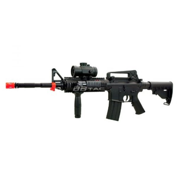 BBTac Airsoft Rifle 1 BBTac M83 Full and Semi Automatic Electric Powered Airsoft Gun Full Tactical Accessories Ready to Play Package