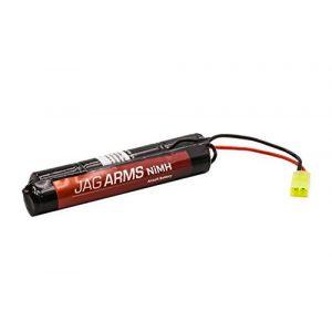 Jag Arms Airsoft Battery 1 Jag Arms 9.6v 1600mAh NiMH Nunchuck Airsoft Battery