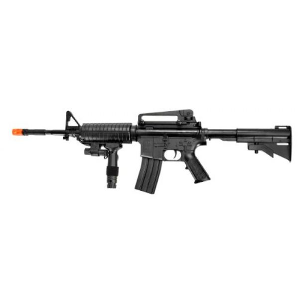 UK Airsoft Rifle 1 UK ARMS P1158CA Spring Airsoft Rifle M4A1 Carbine M4 AR15 AR-15 Assault Rifle
