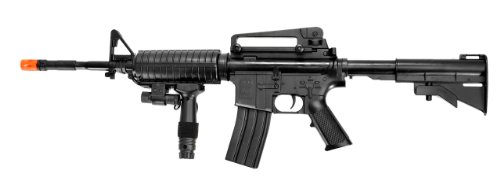 UK  1 UK ARMS P1158CA Spring Airsoft Rifle M4A1 Carbine M4 AR15 AR-15 Assault Rifle