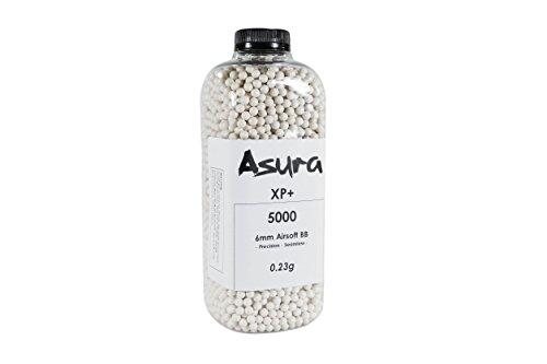 Asura Airsoft BB 1 Asura XP+ 6mm Precision Airsoft BB 5000 Count
