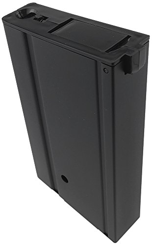 SportPro  4 SportPro 400 Round Metal High Capacity Magazine for AEG M14 3 Pack Airsoft Black