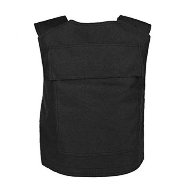BESPORTBLE Airsoft Tactical Vest 2 BESPORTBLE Tactical Paintball Vest Army Airsoft Adjustable Vest Assurance Bullet Supplement Vest for Cosplay Combat War Game
