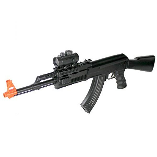 BBTac Airsoft Rifle 1 BBTac Airsoft Electric Gun AK BT-022 Fully Automatic Rifle, Great for Starter, with Semi & Safe Mode