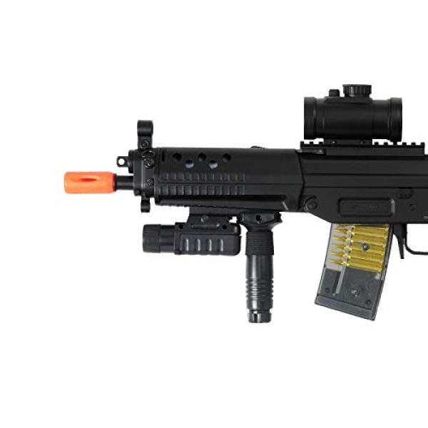 Double Eagle Airsoft Rifle 3 Double Eagle M82 Full Auto Airsoft Electric Gun Folding Stock 200fps