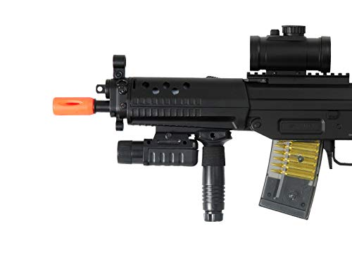 Airsoft Double Eagle Airsoft Rifle 5 AirSoft Double Eagle M82P SIG 552 Semi/Full Auto Electric Assault Rifle AEG