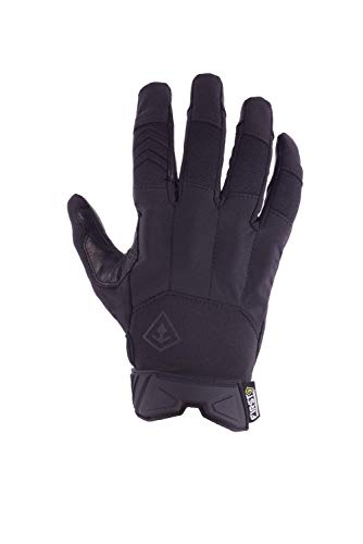 First Tactical Airsoft Glove 1 First Tactical Womens Pro Knuckle Glove | TPR Protective Knuckles with Goatskin Touchscreen Leather