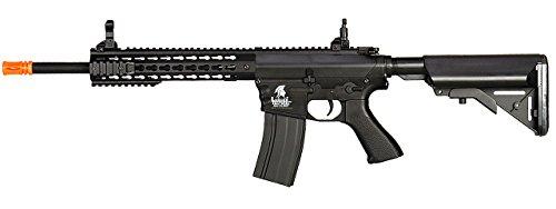 UKARMS  1 UKARMS Lancer Tactical AEG M4 Keymod Electric Automatic Airsoft Rifle Gun - Full Metal Gearbox -