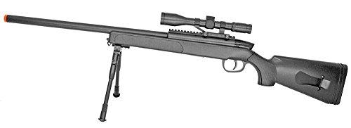 UKARMS  1 Spring Bolt Action Sniper Rifle FPS-400 Bipod