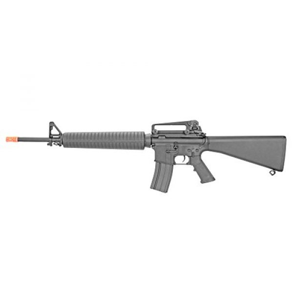 MetalTac Airsoft Rifle 2 MetalTac CYMA CM013 Electric Airsoft Gun RAS with Polymer Body, Metal Gearbox Version 2, Full Auto AEG, Powerful Spring 370 Fps with .20g BBS