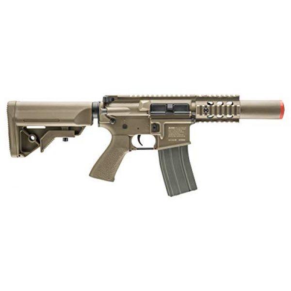 Elite Force Airsoft Rifle 3 Elite Force M4 AEG Automatic 6mm BB Rifle Airsoft Gun, CQC, FDE