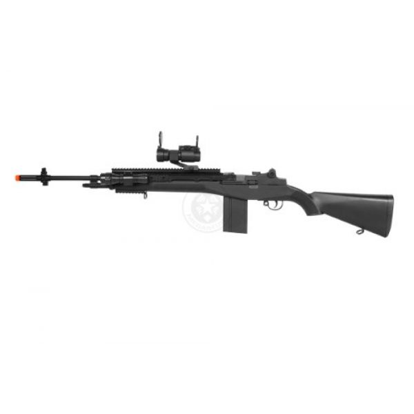 AGM Airsoft Rifle 3 400 fps agm airsoft m14 ris spring sniper rifle w/ red dot(Airsoft Gun)