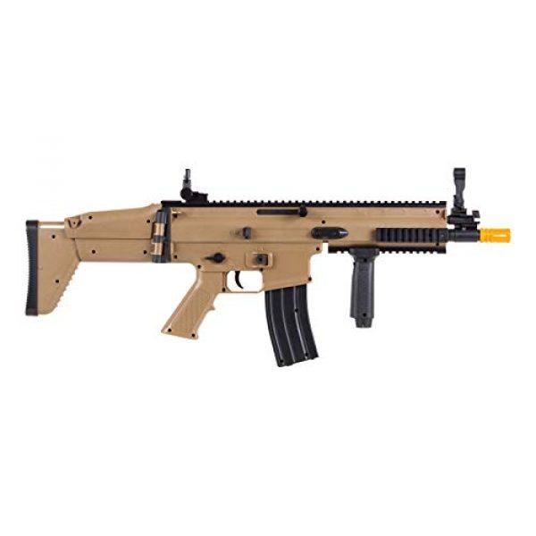 FN Airsoft Rifle 4 FN Scar-L Spring Powered Airsoft Rifle, Tan, 300 FPS