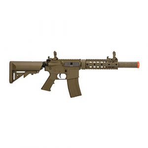 Lancer Tactical Airsoft Rifle 1 Lancer Tactical Gen 2 Polymer SD AEG Electric Automatic Airsoft Gun
