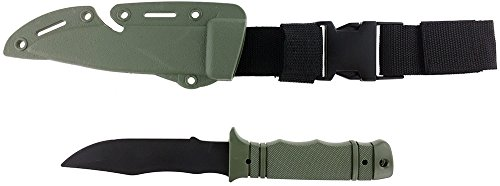 SportPro Airsoft Tool 1 SportPro Rubber Combat Knife M37 Style for Training Airsoft Olive Drab