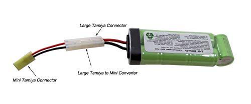 PForce Airsoft Battery Charger 2 PForce Omega SB 8.4v Battery Large Mini Tamiya Connecter 1500mAh NiMH AEG Airsoft