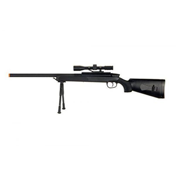 CYMA Airsoft Rifle 1 CYMA zm51 Spring Airsoft Gun Sniper Rifle fps-400 w/bipod, Scope(Airsoft Gun)