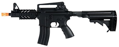 Well  1 Well D3809 M16 CQB Stubby Electric Airsoft Gun Full Auto Assault Rifle FPS-300