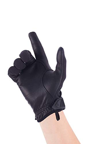 First Tactical Airsoft Glove 3 First Tactical Womens Pro Knuckle Glove | TPR Protective Knuckles with Goatskin Touchscreen Leather