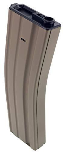 SportPro  2 SportPro Jing Gong 450 Round Metal High Capacity Magazine for AEG M4 M16 3 Pack Airsoft Tan