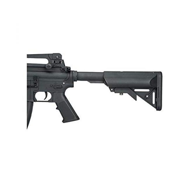 Lancer Tactical Airsoft Rifle 5 LANCER TACTICAL Gen 2 Upgraded RIS LT-04 AEG Metal Gear Electric Airsoft Gun, Black