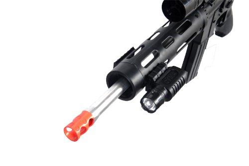 UKARMS Airsoft Rifle 2 UKARMS P1136 Marksman Sniper Spring Airsoft Rifle & Pistol Combo Gun Set FPS 260