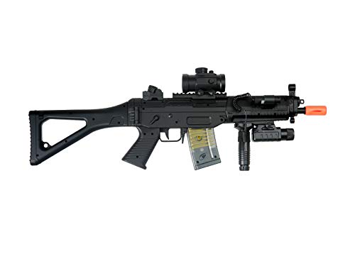 Airsoft Double Eagle Airsoft Rifle 3 AirSoft Double Eagle M82P SIG 552 Semi/Full Auto Electric Assault Rifle AEG