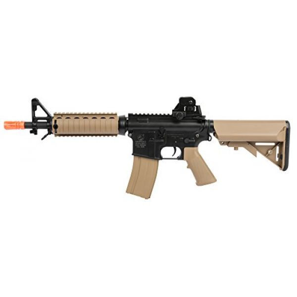 Colt Airsoft Rifle 1 Colt Soft Air CQBR-RIS Electric Powered Airsoft Gun with Adjustable Hop-Up, 350-380 FPS