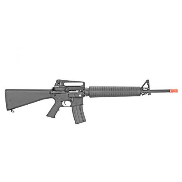 MetalTac Airsoft Rifle 3 MetalTac CYMA CM013 Electric Airsoft Gun RAS with Polymer Body, Metal Gearbox Version 2, Full Auto AEG, Powerful Spring 370 Fps with .20g BBS