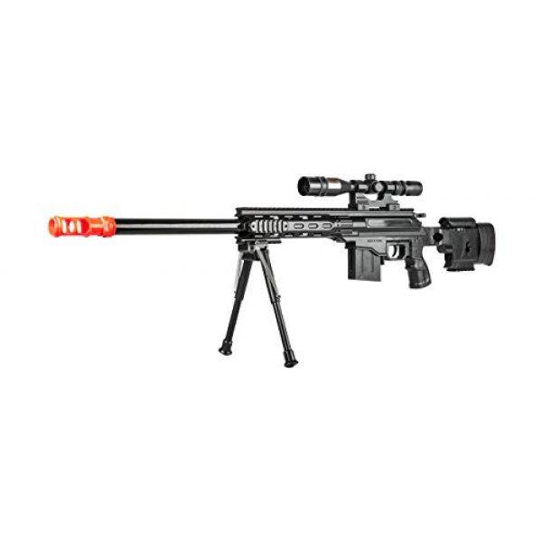 UKARMS Airsoft Rifle 3 UKARMS Top Marksman Sniper Spring Airsoft Rifle Gun FPS 225 w/Bipod