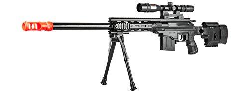 UKARMS  3 UKARMS Top Marksman Sniper Spring Airsoft Rifle Gun FPS 225 w/Bipod