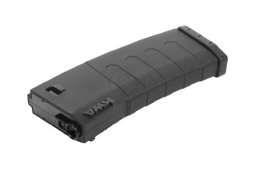 KWA  2 KWA Airsoft 120rd Polymer K120 Mid-Cap Magazine for M4 / M16 AEGs