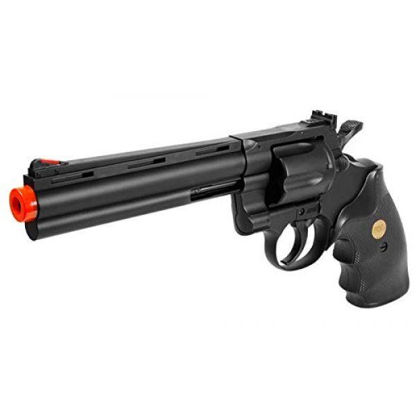 TSD Sports Airsoft Pistol 3 TSD Sports UA938B 6 inch Spring Powered Airsoft Revolver (Black)