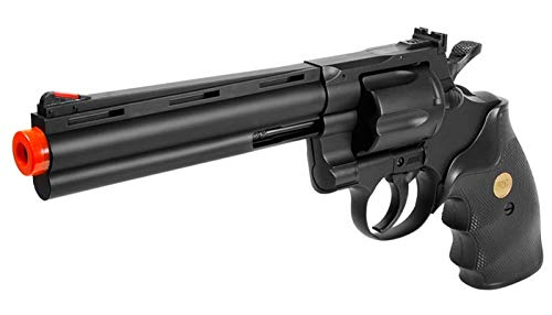 TSD Sports Airsoft Pistol 3 TSD Sports UA938B 6 inch Spring Powered Airsoft Revolver (Black)